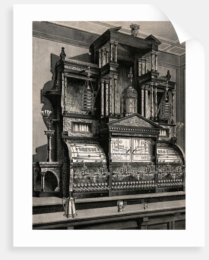 Early Soda Fountain Machine by Corbis