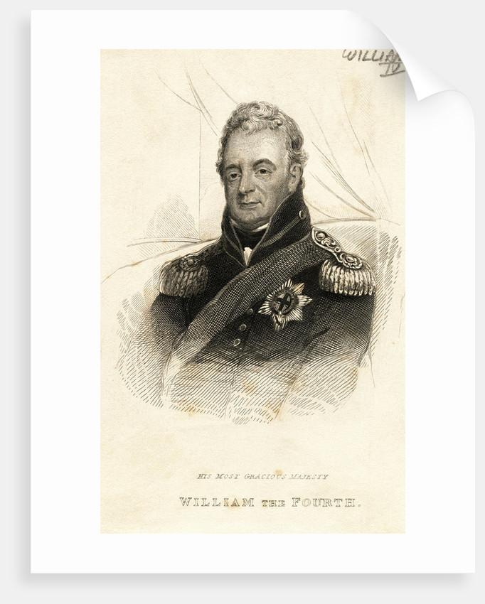 Portrait of Britain's King William IV by Corbis