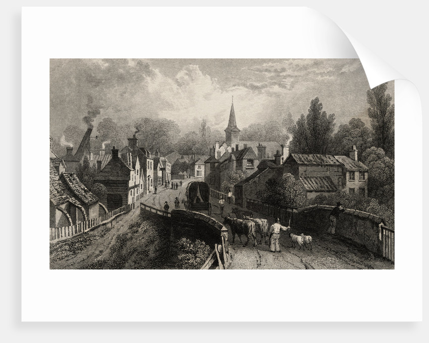 Illustrated View of Chipping Ongar in Essex by Corbis