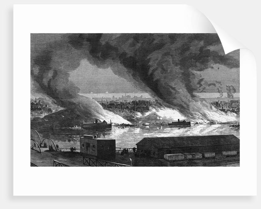 Coal Heaps Burning by Corbis