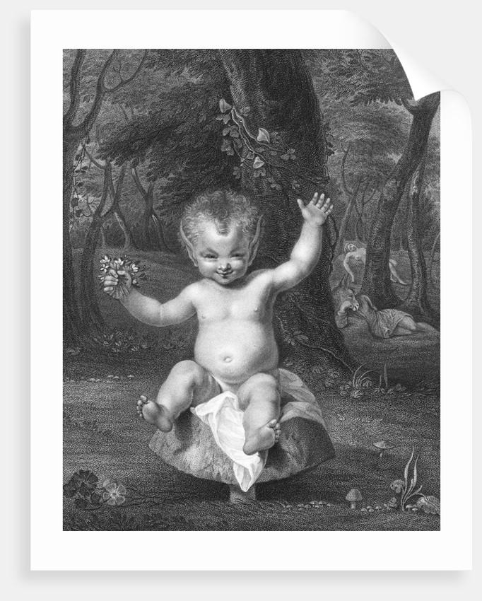 Illustration from Shakespeare's Midsummer Night's Dream by Corbis
