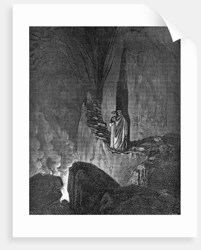 Illustration from Inferno by Dante by Corbis