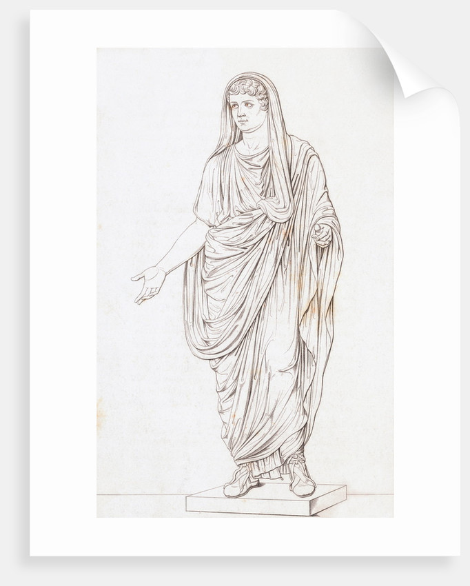 Drawing of Nero by Corbis