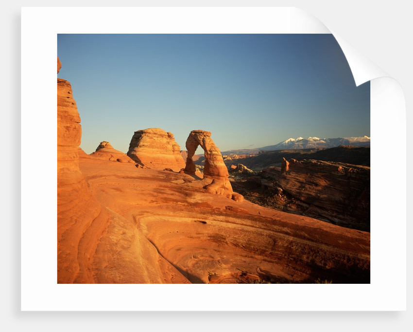 Delicate Arch at Twilight by Corbis