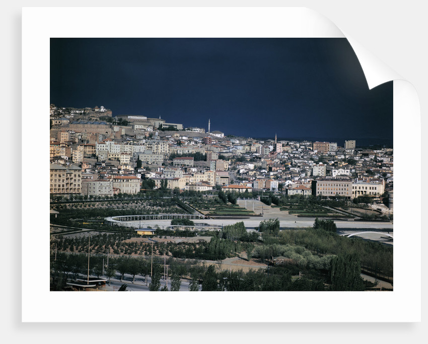 General View of Ankara, Turkey by Corbis