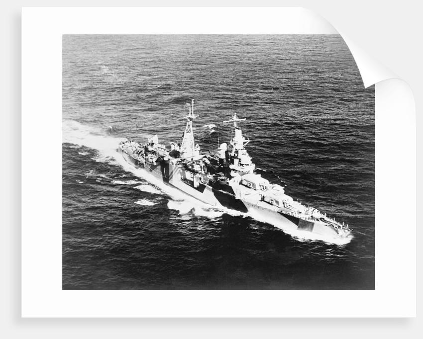 USS Indianapolis at Sea by Corbis