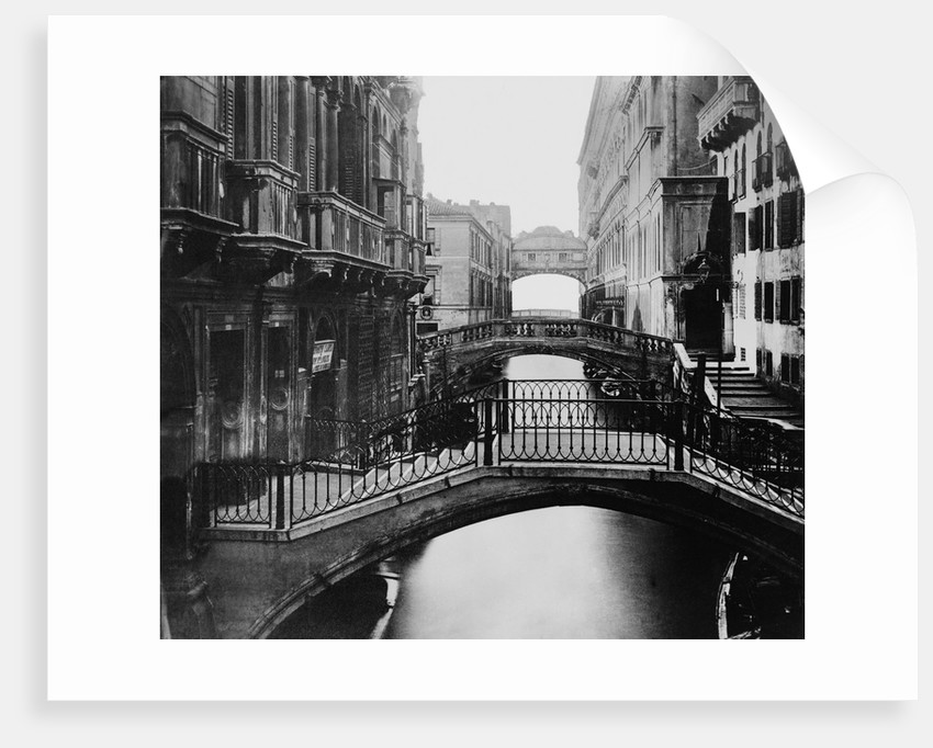 Distant View of Bridge of Sighs by Corbis