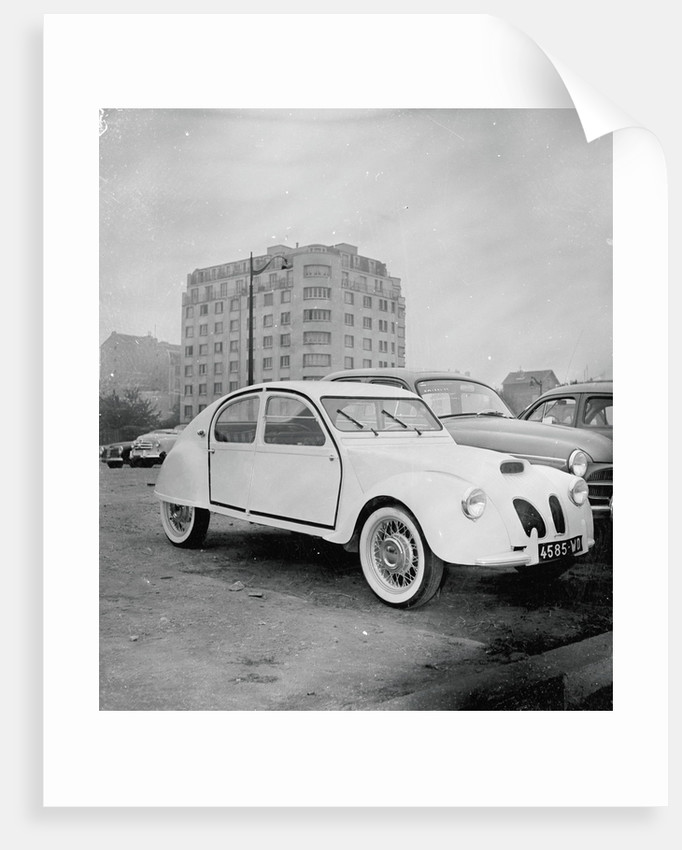French Citroen Automobile by Corbis