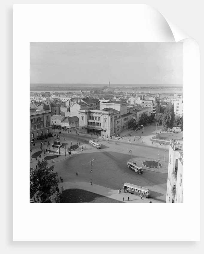 Aerial View of the Square of the Republic by Corbis