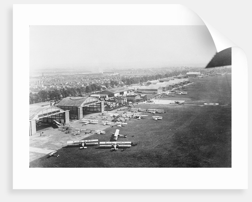 Aerial View of Le Bourget Flying Field by Corbis
