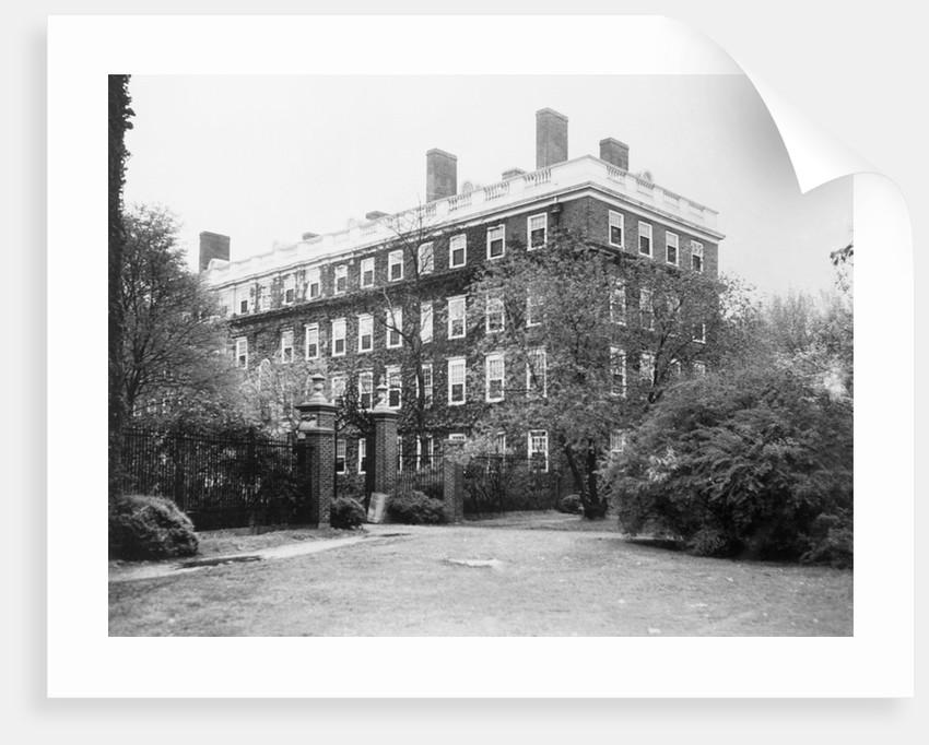 Harvard University Dormitory of John F. Kennedy by Corbis