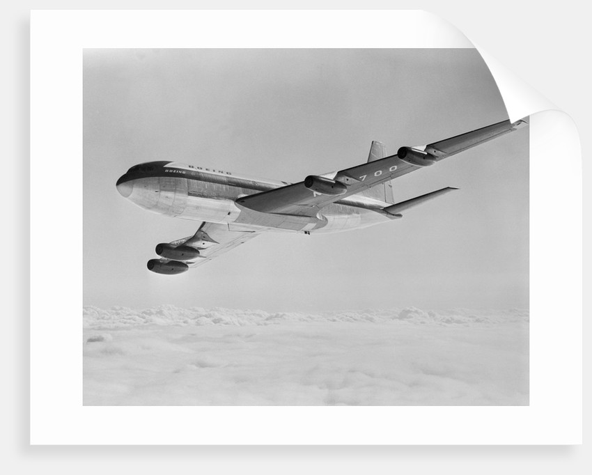 Boeing 707 Airplane by Corbis