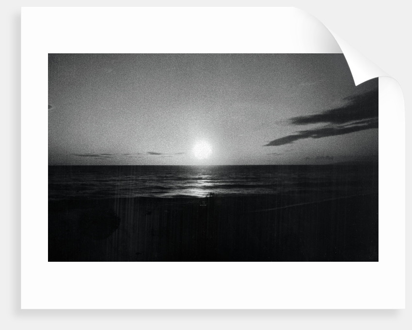 Somber Skyline over Water by Corbis