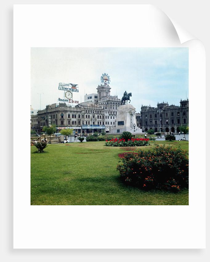 Plaza of San Martin by Corbis