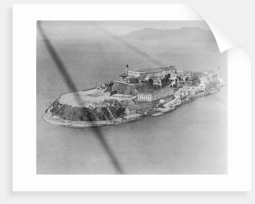 Aerial View of Alcatraz Island by Corbis