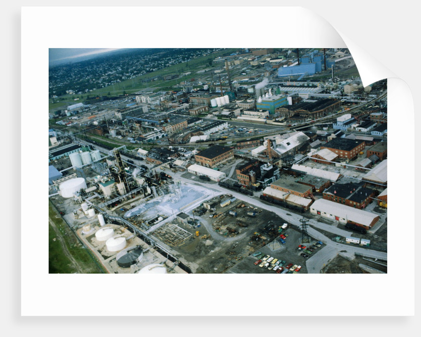 Hooker Chemical Plant by Corbis