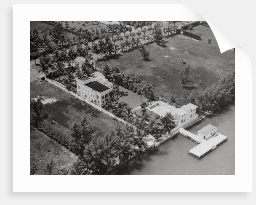 Al Capone's Miami Estate by Corbis