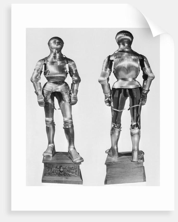 Erbach Suit of Maximilian Armor by Corbis