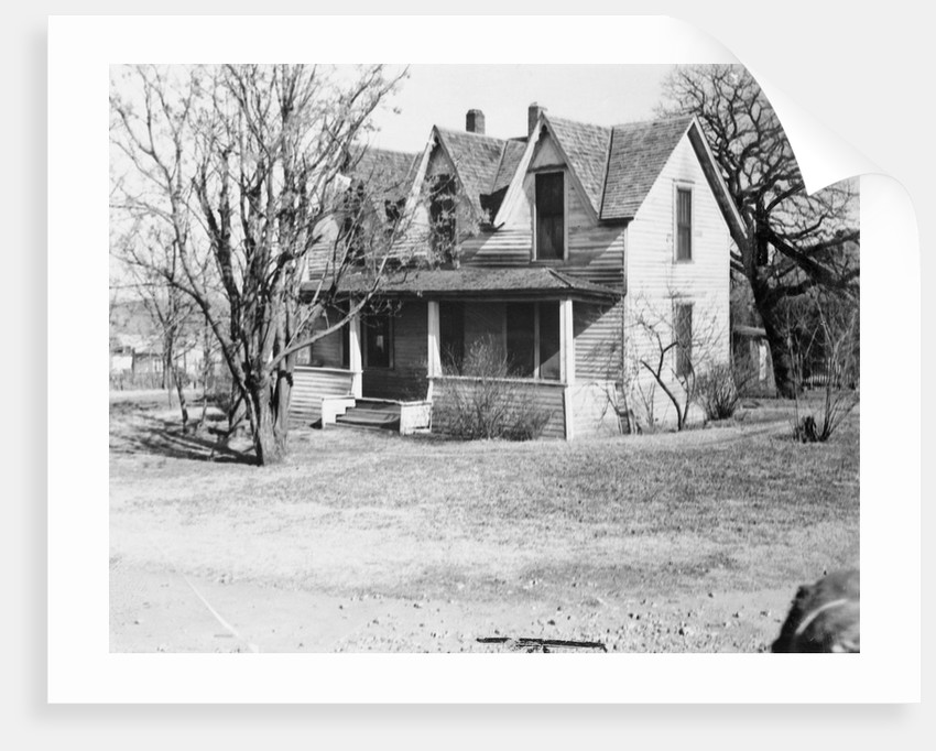 Birthplace of Dwight D. Eisenhower by Corbis