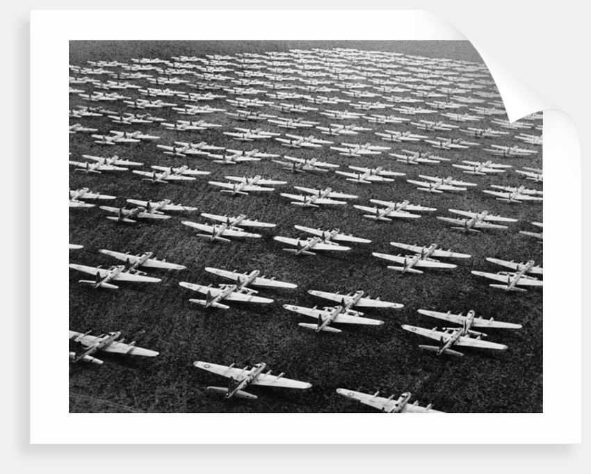 Hundreds of B-29 Flying Fortresses Await Scrap Heap by Corbis