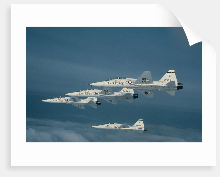 European NATO Military Planes in Flight by Corbis