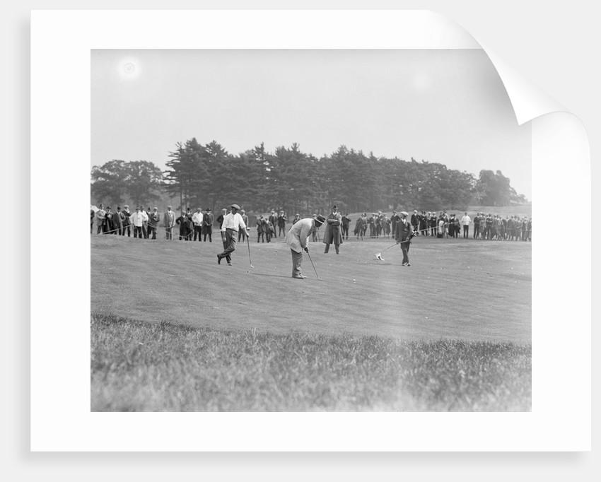 Crowd Watching Golf Tournament by Corbis