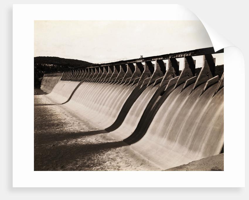 Great Hollow Dam Across Colorado River by Corbis