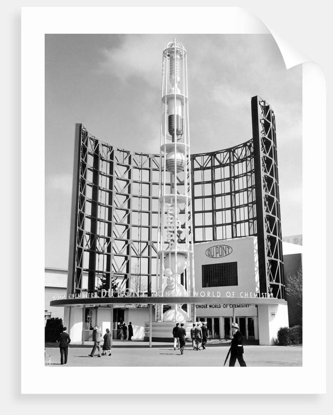 Du Pont Building at World's Fair by Corbis