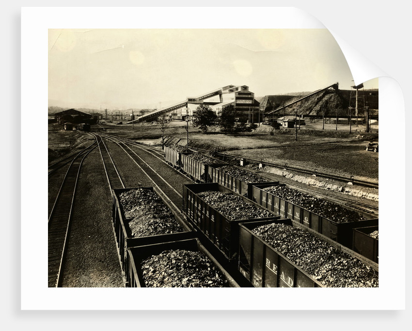 Colliery of Philadelphia & Reading Coal and Iron Company by Corbis