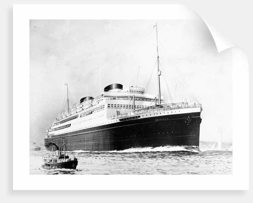 Britain's Britannic on the Waters by Corbis