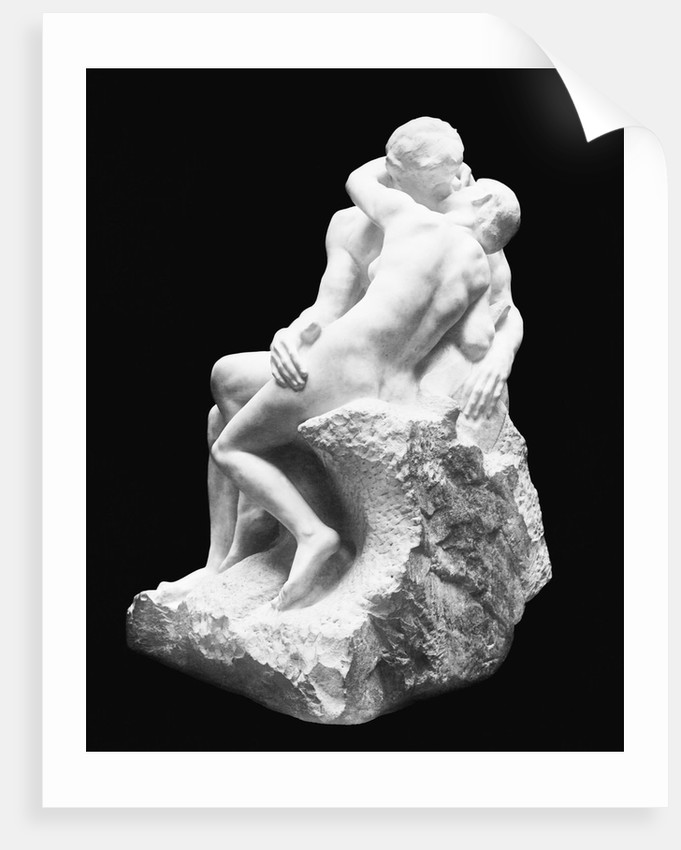 The Kiss by Auguste Rodin