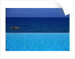 Blue of Pool, Sky and Sea by Corbis