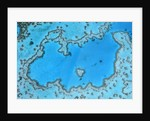 Aerial View of Great Barrier Reef by Corbis