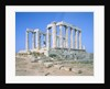 Poseidon Temple in the Sounion National Park, Attica, Greece by Corbis