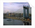 Brooklyn Bridge and Manhattan by Corbis