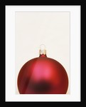 Red Christmas tree decorations by Corbis