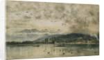 Lake Lucerne, Switzerland by Rudolf von Alt