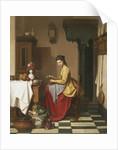 Grinding Coffee by Charles Henri Joseph Grips