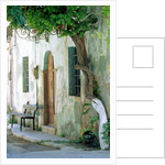 House in the village Vessa on Chios, Greece by Corbis