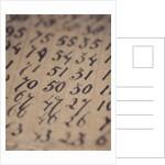 Numbers by Jennifer Kennard