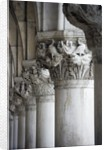 Columns of the Doge's Palace by Corbis