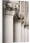 Column Sculptures of Doge's Palace by Corbis