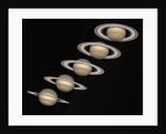 Changing Seasons on Saturn by Corbis
