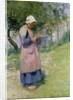 A Little Breton Maid by Hugh Bellingham Smith