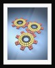 Gears Composed of Molecules by Corbis