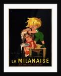 La Milanaise Poster by John Onwy