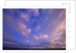 Colorful Clouds at Sunset by Corbis