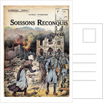 Cover Illustration of Soissons Recaptured by Georges Spitzmuller