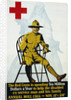 Red Cross Annual Roll Call Poster by Corbis