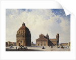 A View of Pisa, Italy by Hubert Sattler
